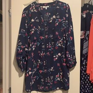 Maurices flowered blouse